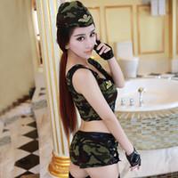 9608cea66194b4 Die funwoman Uniform verführt die Tarnung Polizei Uniform Spiel Cosplay  Kostüm MOXIAN Spiel Uniform verrückt Wildheit greifen einen Dieb QN40A10148L