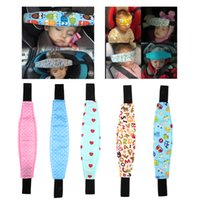 Wholesale baby stroller safety for sale - 1Pcs Fixing Band Baby Kid Head Support Holder Sleeping Belt Car Seat Sleep Nap Holder Belt Baby Stroller Safety Seat Holder Belt