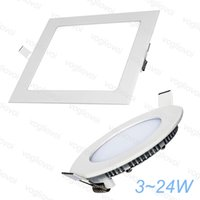 Wholesale white warning lights online - Ceiling Lights W W W W W W W AC85 V Aluminum Profile Acrylic Cover Side Emitting White Warn White Recessed Lamps DHL