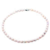 Wholesale beaded necklaces for sale - the latest fashion jewelry design mm natural freshwater elliptical pearl necklace for mother s surprise gift