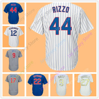 Wholesale Ross Gold - Men Women Youth Kid Chicago Jersey Kris Bryant Anthony Rizzo Javier Baez Kyle Schwarber David Ross Russell Ben Zobrist Contreras Heyward