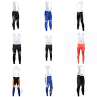 Wholesale quick step bib - QUICK STEP Multiple team cycling (bib) pants Cycling Clothing Windproof Warm Mountain Road Bicycle Bike Quick-Dry Bicycle Sportwear C3037