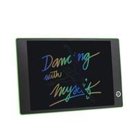 kostenlose grafiktablette großhandel-Grafische Tablette bunte Wörter 9.7inch Digital LCD Schreiben Tablet graphics zeichnung pad handschrift board für kinder versandkostenfrei