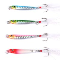 Wholesale artificial fishing lures online - Bionic Artificial Fishing Lure Outdoor Fishing Supplies Fishinghook High Quality Gray Soft Fake Bait New Arrival sb WW