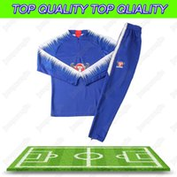 Wholesale football liver for sale - 2018 Autumn And Winter New Sports Tracksuit Hazard Diego Costa Oscar Firmino M salah Liver Gerrard Lallana Fabinho Football Training Suit