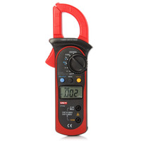 multímetro digital de rango automático al por mayor-Freeshipping LCD Digital Clamp Multimeter Auto Range Dispositivo de prueba de sujeción