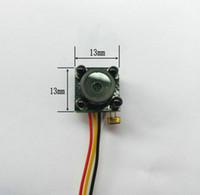 Wholesale diy cctv cameras for sale - Group buy New HD TVL Smallest Mini Analog diy module IR LED Light Night Version cctv camera Home Security Surveillance video camera