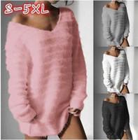 a3b96862119 Wholesale velvet sweater dress for sale - Winter Fashion Women Long Sleeve  Velvet Sweaters Casual Knitted