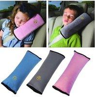 ingrosso cuscino della cintura-Universale copertura auto per bambini Cuscino spalla bambini Cinture di sicurezza bambini cinghia di protezione imbracatura sedili cuscino TO759