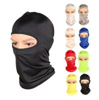 Wholesale face mask bicycle - Bicycle Face Mask Outdoor Multifunction Face Protection Windproof sports Scarf Headgear Cap Cycling Face Mask GGA167 60PCS