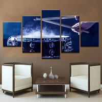 Wholesale musical paintings art for sale - Wall Art Canvas Paintings Modular Home Decor HD Prints Pieces Drums Pictures Musical Instruments Posters Living Room Frameless