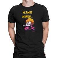Wholesale spain mens shorts resale online - Veamos Mundo Mens T Shirt Vespa Funny Spain Espana Gift Espana Retro