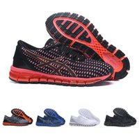 Wholesale shoe gel online - Original Asics Gel Quant Shift New Running Shoes For men women Black Red Grey White Discount Sport Sneakers Size
