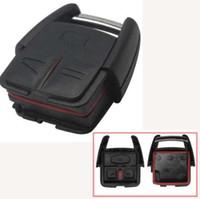 fob key blanks venda por atacado-Jingyuqin 3 Botões Substituição Chave Do Carro Stying Remoto Caso Fob Capa Fob Em Branco Para Opel VAUXHALL VECTRA ASTRA ZAFIRA