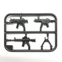 Wholesale Weapon Accessories - Military Swat Team Guns Weapon Pack Building Blocks City Soldiers Figure Accessories WW2 Military Army Gun Bricks Series Toys
