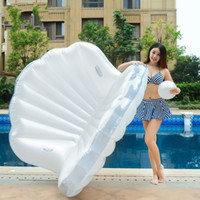 Wholesale water pools for sale for sale - Group buy Leisure Swimming Pool Mount Inflatable Shell Overwater Floating Row For Child Adult Summer Outdoors Water Toys Hot Sale XY Y