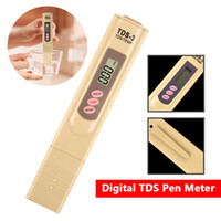 Wholesale Digital Tds Meter Tester Filter - High Quality Portable Digital TDS Tester Pen Meter Filter Measuring Water Purity Tester Color Random Used in water purifiers and filters