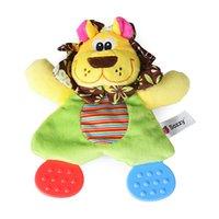poupées de bébé achat en gros de-Baby Toddles Infant Soft Apaisant Playmate Calme Serviette Poupée Teether Developmental Hochet Peluche