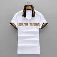 Wholesale unlined shorts - 2018 summer Pure Cotton Man Short Sleeve Lapel Unlined Upper Garment Will Men's Wear On Clothes Male mens polo tshirt