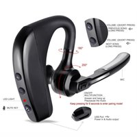 Wholesale mixed voice - V8 Business Bluetooth Earphone Sport Wireless Bluetooth Headset Bass Earbuds Music Earphone Voice control with Mic