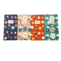 peri kağıt toptan satış-12pcs / lot YENİ Retro Vintage peri Çiçekler serisi Blank Kraft kağıt not defteri güzel Günlüğü Güzel Çocuk Hediye promosyon