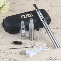 mini usb paso al por mayor-Original UGO 4 en 1 eGo Vape Pen Starter Kit Wax Dry Herbal Vaporizer Mini Estuche Kit 900 1100mAh USB Passthrough EVOD batería