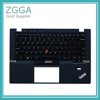 Wholesale keyboard cover thinkpad - For Lenovo ThinkPad X1 Carbon 1st 34XX Palmrest Keyboard Bezel Upper Case Cover Cshell Lid with Backlit US English
