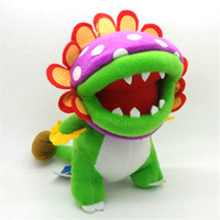 Wholesale piranha toys for sale - Group buy Hot New quot CM Super Mario Bros Piranha Plush Doll Anime Collectible Dolls Soft Best Gifts Stuffed Toys