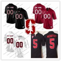 70613b6c3 NCAA Stanford Cardinal  3 KJ Costello 19 JJ Arcega-Whiteside 84 Colby  Parkinson 51 Jovan Swann Red Black White College Football Jersey S-3XL