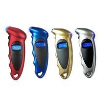 air gauge for motorcycle 도매-디지털 타이어 압력 게이지 LCD 백라이트 자동 자동차 오토바이 타이어 게이지 150 PSI 공기 타이어 게이지 모니터 기압계 타이어 테스터 미터
