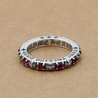 joyas gratis de piedra al por mayor-A estrenar 925 joyería de moda de plata de ley vintage estilo europeo europeo diseñador anillos con piedras bonito regalo envío gratis