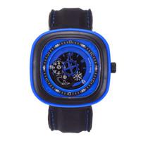 спортивный дизайн часов оптовых- original unique design square male watch large dial casual gear square quartz watch men's sports watches