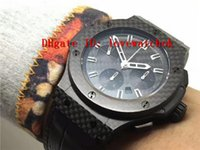Wholesale Automatic Plate - Luxury Brand New HUB4100 Automatic Chronograph 28800 VPH carbon fiber case dial plate super Luminous Sapphire Crystal Swiss mens watch