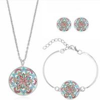 245c59bdc165 Conjuntos de joyería de diseñador para mujer collar de manzana espina  pulseras pendientes al por mayor moda caliente libre de envío