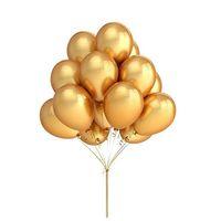 düğün rengi için balonlar toptan satış-100 adet / grup 12 Inç Altın Renk Lateks Balonlar Düğün Doğum Günü Partisi Dekorasyon Aksesuarları Parti Iyilik Balonlar Tedarikçisi