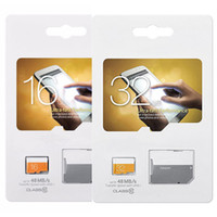 Wholesale 16gb memory - EVO 8GB 16GB 32GB Micro SD Card Real Capacity C10 Class 10 EVO UHS-I Micro SD HC UHS-I U1 TF Memory Card