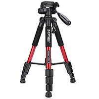 slr tripod toptan satış-ZOMEI Q111 Profesyonel Taşınabilir Seyahat Alüminyum Kamera TripodPan Başkanı SLR DSLR Dijital Kamera için Üç renk