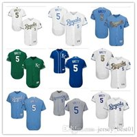 Wholesale Brown Person - custom Kansas City Royals #5 George Brett 2018 men#WOMEN#YOUTH#Men's Baseball Jersey Majestic Stitched Personal name Person number