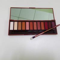 12 color eyeshadow palette venda por atacado-A pré-venda! HOT NEW Calor Paleta Paleta Da Sombra de Olho 12 cores da Sombra de Maquiagem DHL Frete grátis