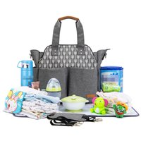 подгузник для переодевания оптовых-baby travel changing diaper tote fashion mummy maternity nappy bag organizer baby bag stroller messenger bags handbags for moms