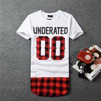 Wholesale t shirt bandana - BRSR 2018 UNDERATED Bandana Men's Extended Tee Shirts Men Skateboard Element t-shirt Hip Hop tshirt Streetwear Clothing