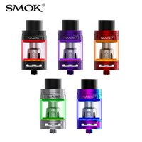 cigarrillo electronico v8 al por mayor-100% original SMOK TFV8 Big Baby Light Edition atomizador 5ml 2ml Tanque con bebé Q2 Coil V8 Big Baby atomizador de cigarrillo electrónico