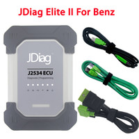 Wholesale C4 Scanner - 2018 Wireless JDiag Elite II For Mercedes Benz Diagnosis Replace MB Star Diagnostic C4 Scanner SD Connect Compact DAS Xentry OBD2 Car Tool