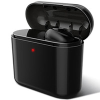 Wholesale cell phone wireless earphones for sale - Wireless Bluetooth headphones earbuds Mini Invisible BL1 Earphone charging box Invisible Earpiece Headset For phone earbuds Mini BL1 Stereo