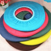 Wholesale Soft Toilet Cover - Closestool Lid Pad Comfortable Mat Fashion Bathroom Supplies Toilet Seat Cover Soft Universal Washable Cashmere Free Shipping 1 1dz V