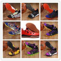 differently 987f5 e8abe 2018 neueste Kobe AD React Exodus Derozan Rot Silber Lila Rosa Basketball  Schuhe Hohe Qualität KB Mens Trainer Sport Turnschuhe Größe 7-12
