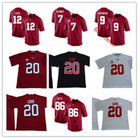 a430014c6 Wholesale stanford jersey online - Mens NCAA Stanford Cardinal Andrew Luck College  Football Jersey Christian McCaffrey