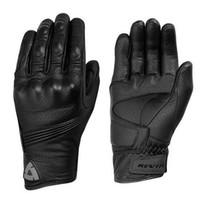 ingrosso guanti in pelle nera per uomo-Nuovo Guanto moto REVIT traspirante in vera pelle nera Motocross Guanti Moto GP Off Road Guanti Uomo Donna