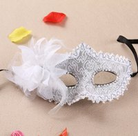 Wholesale rose women costume for sale - Italy Venice Sexy Cosplay Party Masks Helloween And Party Mask