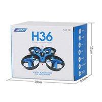 drones quadcopters venda por atacado-1pcs venda! JJRC H36 Mini Drone 2.4GHz 6 Eixos RC Micro Quadcopters Com Modo Sem Cabeça Drones Voando Helicóptero Para O Presente Do Miúdo